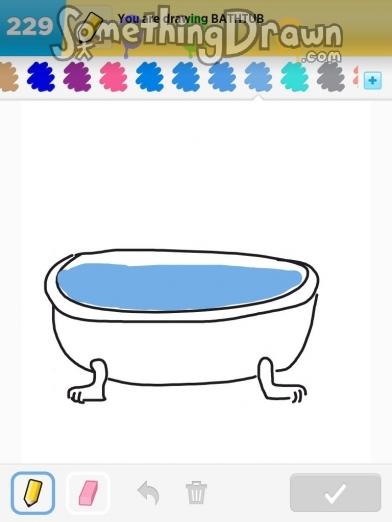 Somethingdrawn Com Draw Something Drawings Of Bathtub On Draw