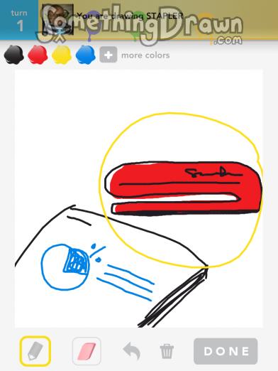 Stapler Drawing