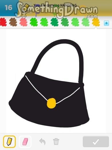 Somethingdrawn Com Draw Something Drawings Of Handbag On Draw