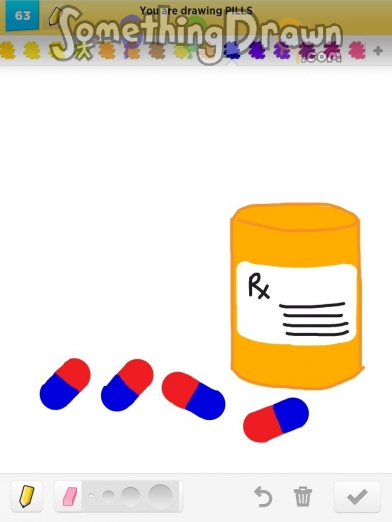 Pills drawn by jennypah on draw something for How to draw a pill