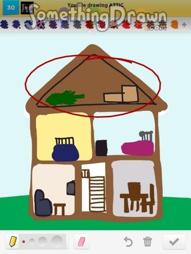 Attic drawing Attic Room Attic Getty Images Somethingdrawncom Attic Drawn By Jennypah On Draw Something