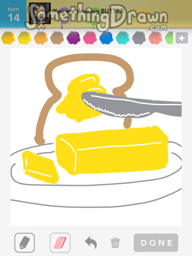 SomethingDrawn.com - BUTTER drawn by jennypah on Draw ...
