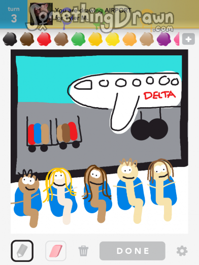 Somethingdrawn Com Airport Drawn By Misterpoopersm On Draw Something
