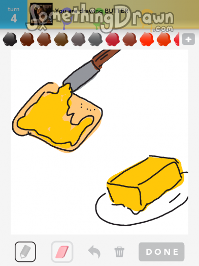SomethingDrawn.com - BUTTER drawn by Sparkles on Draw ...