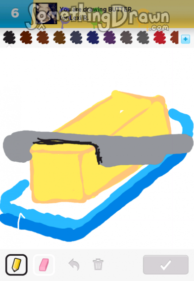 SomethingDrawn.com - BUTTER drawn by Hammer246 on Draw ...