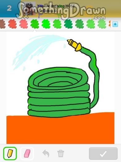 SomethingDrawn.com - Draw Something drawings of HOSE on Draw Something