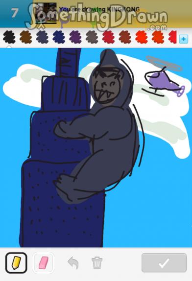 Somethingdrawn Com Draw Something Drawings Of Kingkong On Draw
