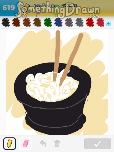 Somethingdrawn Com Noodles Drawn By Susy0453 On Draw Something