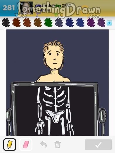 Somethingdrawn Com Xray Drawn By Lucas C On Draw Something