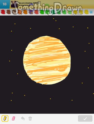 planet jupiter drawing - photo #26