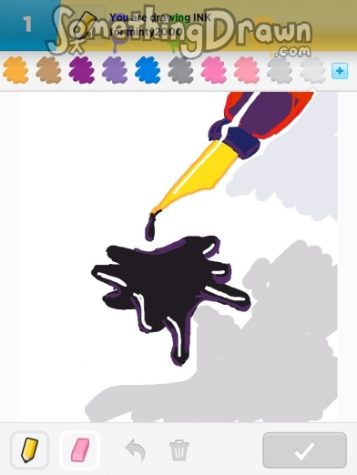 Somethingdrawn Com Draw Something Drawings Of Ink On Draw Something