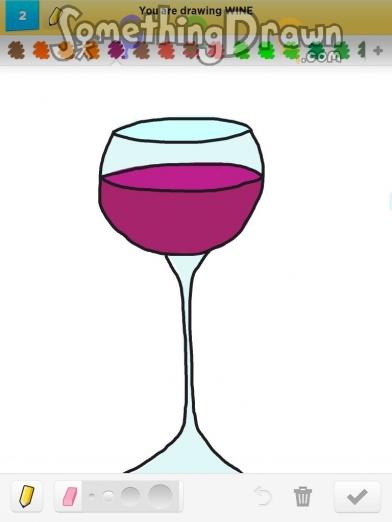Somethingdrawn Com Wine Drawn By Asfisha On Draw Something