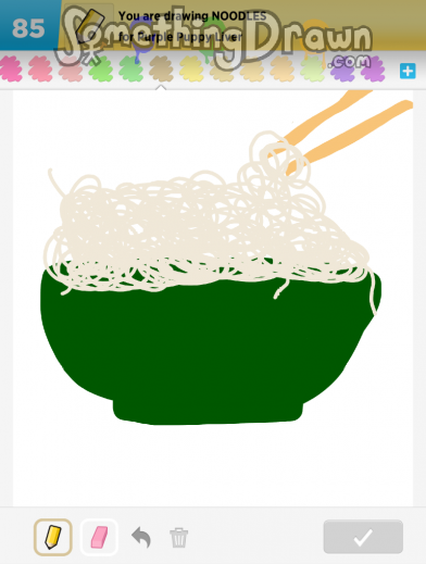 Somethingdrawn Com Noodles Drawn By Yolanda On Draw Something