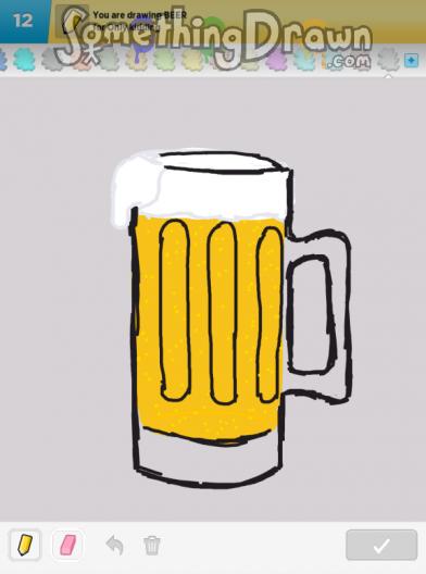 somethingdrawn com beer drawn by yordan on draw something