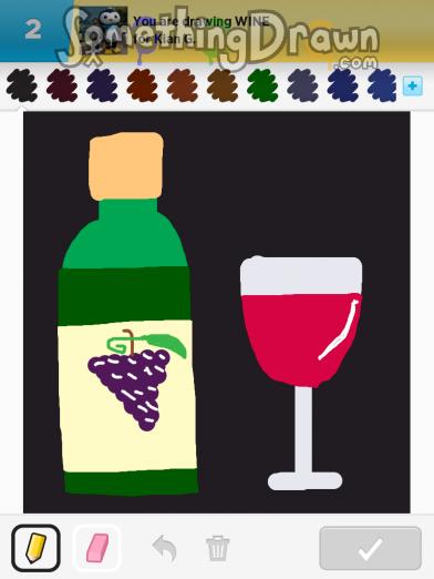 Somethingdrawn Com Wine Drawn By Luckylollipops On Draw Something