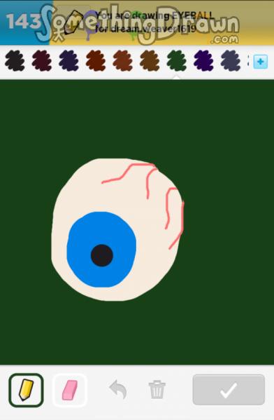Somethingdrawn Com Eyeball Drawn By Iva H On Draw Something