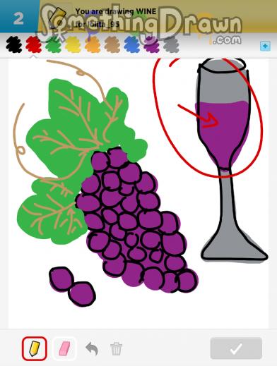 Somethingdrawn Com Wine Drawn By Klsc74 On Draw Something