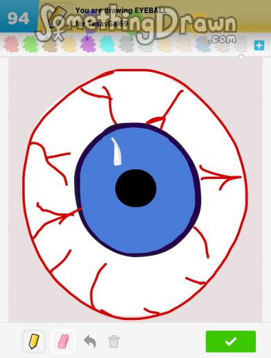 Somethingdrawn Com Eyeball Drawn By Klsc74 On Draw Something