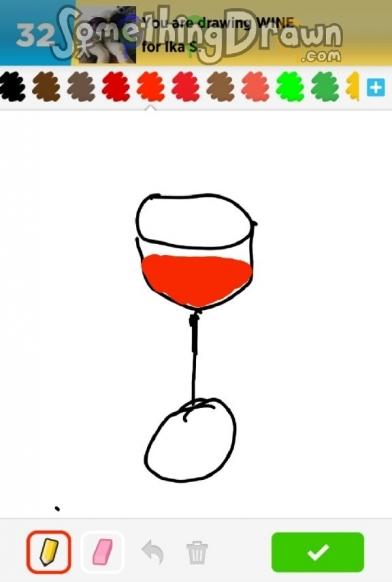 Somethingdrawn Com Wine Drawn By Nicole Yeo On Draw Something