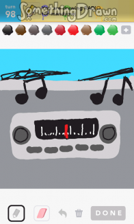 Somethingdrawn Com Draw Something Drawings Of Radio On Draw Something