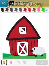Somethingdrawn Com Barn Drawn By Jennypah On Draw Something