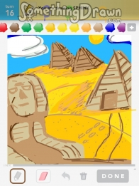 how to draw a egyptian sphinx