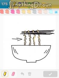 Somethingdrawn Com Draw Something Drawings Of Noodle On Draw Something