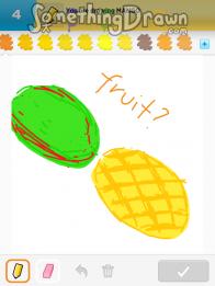 Somethingdrawn Com Draw Something Drawings Of Mango On Draw Something