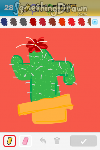 Somethingdrawn Com Cactus Drawn By N00bsaur On Draw Something