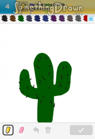 Somethingdrawn Com Cactus Drawn By Dhuvy On Draw Something