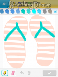 bbee8924126f7c SomethingDrawn.com - Draw Something drawings of FLIPFLOP on Draw ...