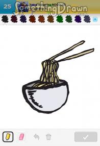 Somethingdrawn Com Draw Something Drawings Of Noodles On Draw