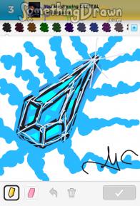 Somethingdrawn Draw Something Drawings Of Crystal On