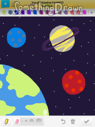 Somethingdrawn Com Draw Something Drawings Of Planets On Draw