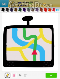 Somethingdrawn Com Draw Something Drawings Of Gps On Draw Something